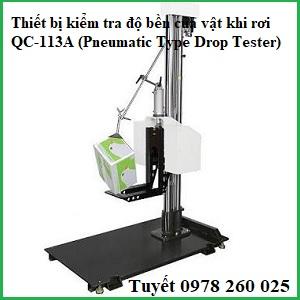 Máy đo độ bền khi rơi của bao bì QC-113A