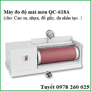 Máy đo độ mài mòn cao su QC-618A (DIN Abrasion Tester)