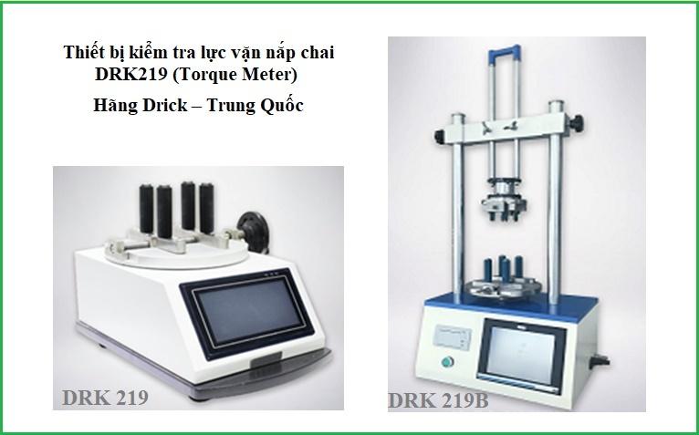Máy đo lực vặn nắp chai DRK219 (Torque Meter) Trung Quốc