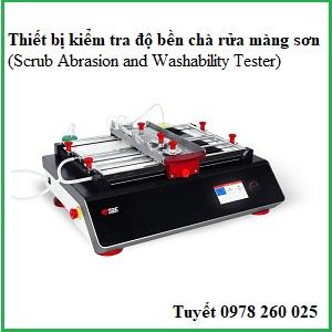 Thiết bị kiểm tra độ bền chà rữa AB6000/AB6010