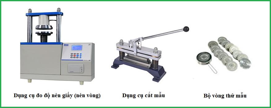 Xác định độ bền nén giấy và carton (nén vòng, nén cạnh)